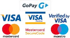 Platba platobnou kartou, prevodom alebo dobierkou.